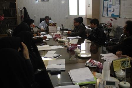 برگزاری کمیته سلامت مردان در برخوار