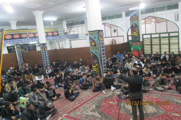 تصاویر / سومین شب محرم در مسجد امام زمان (عج) دولت آباد