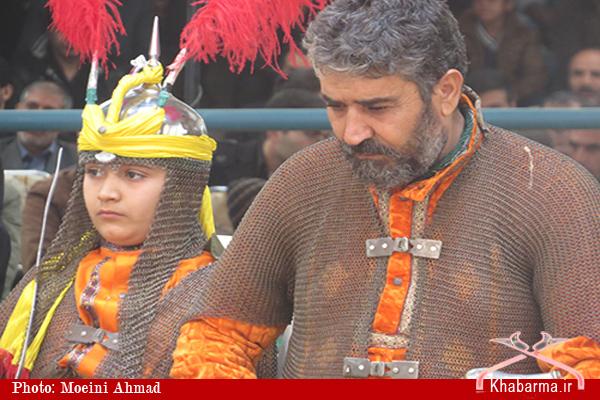 تصاویر / مراسم تعزیه خوانی تاسوعای حسینی در کربکند