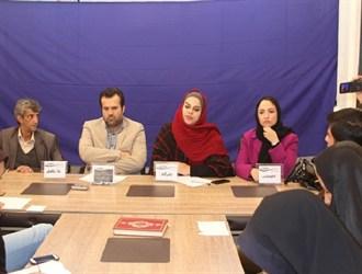 تصاویر/حضور عوامل شیار ۱۴۳ در اولین نشست رسانه و سینما در کرمان