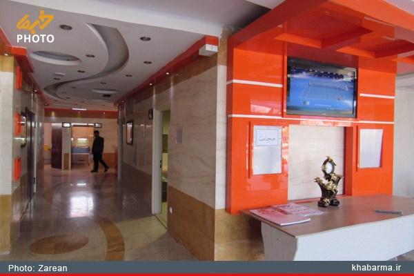 درمانگاه مدرن نورالهدی شهر دستگرد / گزارش تصویری