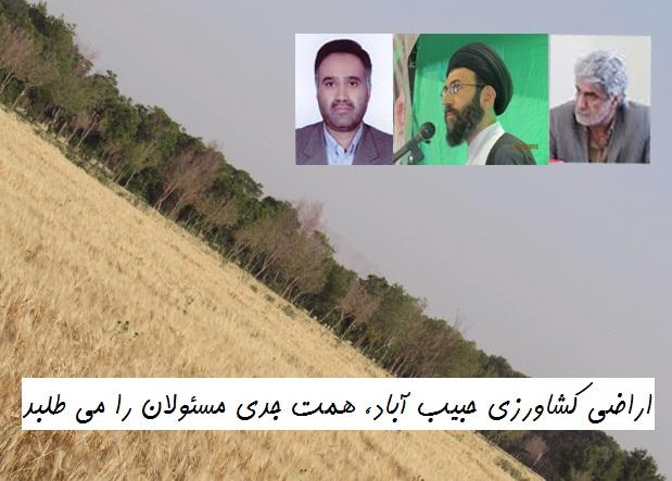 یکپارچه سازی، نیاز جدی زمین های کشاورزی از هم گسیخته حبیب آباد