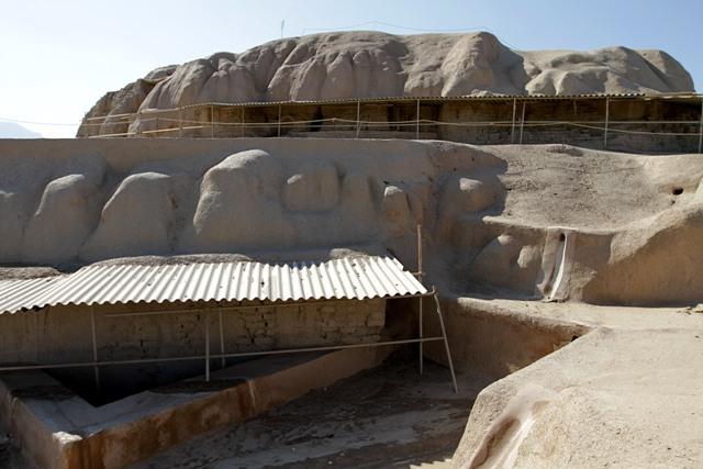 اثر تاریخی 900 ساله در اعماق 16 متری زمین شهر سین کشف شد