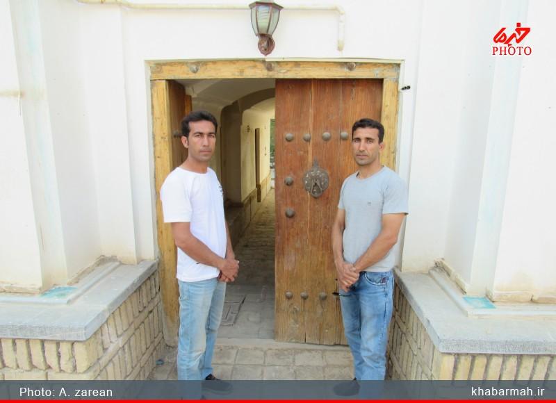 اعجاز معماری ایرانی در خانه تاریخی دایی زاده دستگرد/ تصاویر