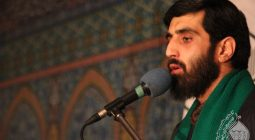 صوت/ مداحی سیدرضانریمانی درمورد شهیدحججی در مسجدالمهدی دولت آباد