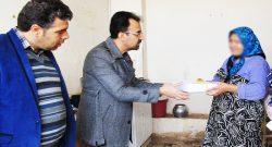 بازدید مسئولان از دو خانواده دارای معلول در روستای علی آباد ملاعلی/ تصاویر