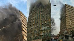 پیام تسلیت بسیج دانشجویی دانشگاه پیام نور دولت آباد در پی آتش سوزی ساختمان پلاسکو