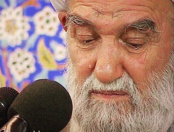 ایت الله ناصری: برادرها و خواهرها! گریه برای امام حسین را فرموش نکنید