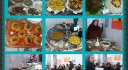 جشنواره غذاهای سنتی با چاشنی ذوق و قریحه دانش آموزان خورزوقی/ تصاویر