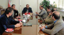 دیدار انجمن اولیاء و مربیان مدارس با مدیر آموزش و پرورش شهرستان