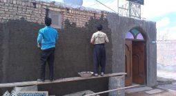 اقدامات جهادی گروه جهادی شهید مفتح شاپورآباد در شهرک درمیان+ تصاویر