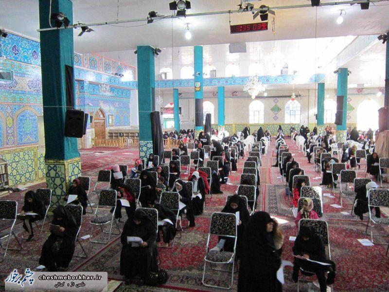 حضور 340 شرکت کننده در مرحله پنجم آزمون سراسری طرح تربیت حافظان قرآن کریم