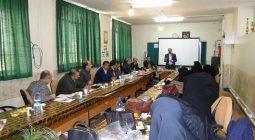 گردهمایی تخصصی مدیران دوره دوم متوسطه شهرستان برگزار شد
