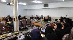 حضور دبیران عربی برخوار و شاهین شهر در جلسه تبیین اهداف کتب جدید عربی