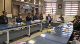 جلسه هماهنگی های احداث میدان شاپور آباد برگزار شد+ عکس