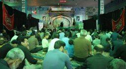آستان امامزاده ابراهیم (ع) در شب شهادت اباابراهیم/ تصاویر و صوت