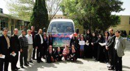حرکت پیک سلامت آموزشگاه شهید کرمی دستگرد در سطح شهرستان
