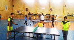 حضور ۲۰۵ بازیکن در جشنواره بزرگ مسابقات تنیس روی میز مدارس شهرستان+ تصاویر