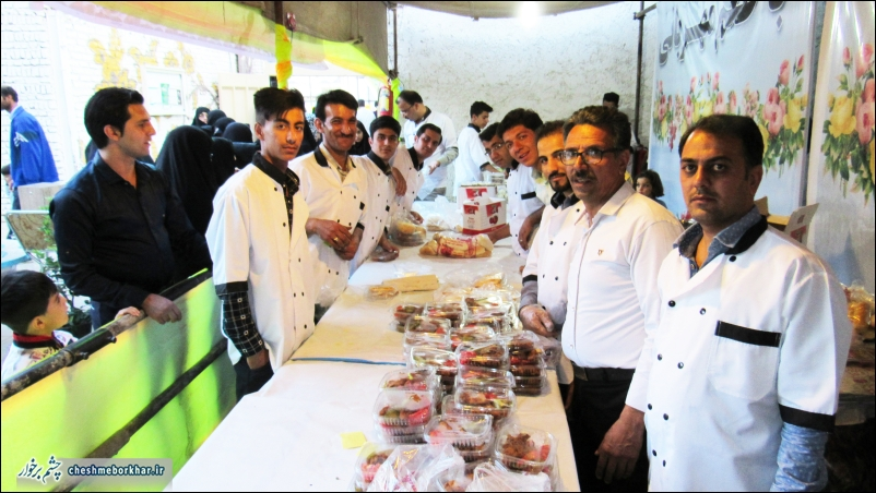 چهارمین جشنواره غذا در زمان آباد برگزار شد +تصاویر