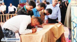شکوه حضور مردم برخوار در صحنه انتخابات ۹۶/ تصاویر