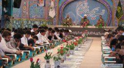 مراسم جزء خوانی قرآن کریم در امامزاده نرمی برخوار / تصاویر