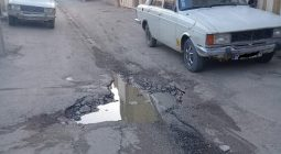 فریاد بی صدای ساکنان خیابان شهید رجایی حبیب آباد در گوش مسئولان/ بوی تعفن مردم را خفه کرد