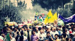 مردم دولت آباد فریاد رهایی قدس شریف را سر دادند/ تصاویر