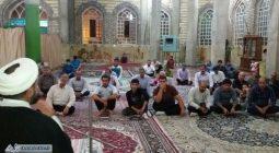 مراسم شب زنده داری و قرائت دعای ابوحمزه ثمالی در کمشچه /تصاویر