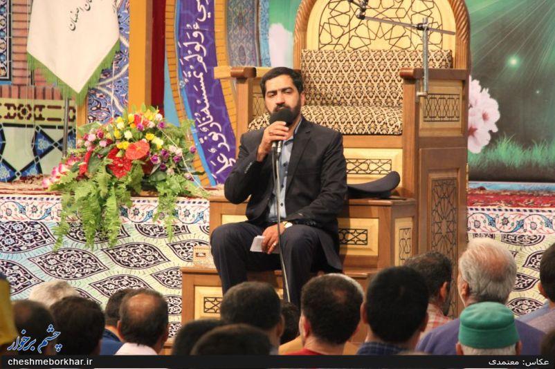 حال و هوای آستان امامزاده نرمی در دهه کرامت /تصاویر