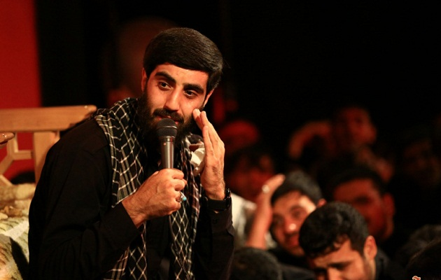 صوتی/ مدیحه سرایی زیبای سیدرضا نریمانی برای شهدای مدافع حرم