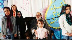 تجلیل از دختران شهدای مدافع حرم و نخبه سین در جشن بزرگ سیب بهشتی+ تصاویر
