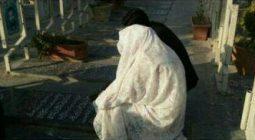 آغاز زندگی مشترک زوج جوان دولت آبادی در کنار قبور مطهر شهدا+ عکس