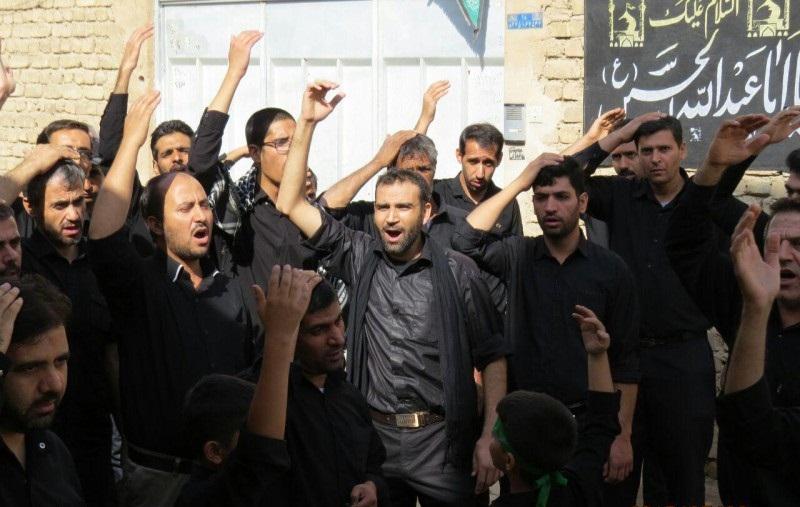 عزاداری مردم برخوار در تاسوعای حسینی به روایت تصویر
