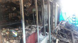 جزئیات حادثه آتش سوزی روز گذشته در دولت آباد/کمبود لوازم امدادرسانی در شهرستان
