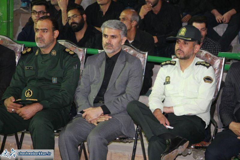 حضور مسئولان شهرستان در جمع عزاداران حضرت سیدالشهدا (ع) /تصاویر