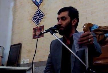 صوت/ مناجات با امام زمان عج با صدای محمد داوری (میثمی)