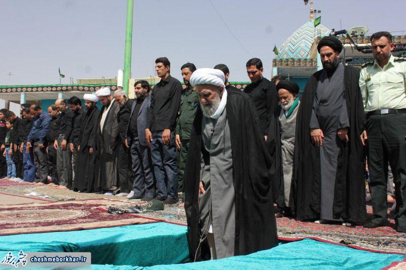 نماز ظهر عاشورا به امامت ایت الله ناصری اقامه شد