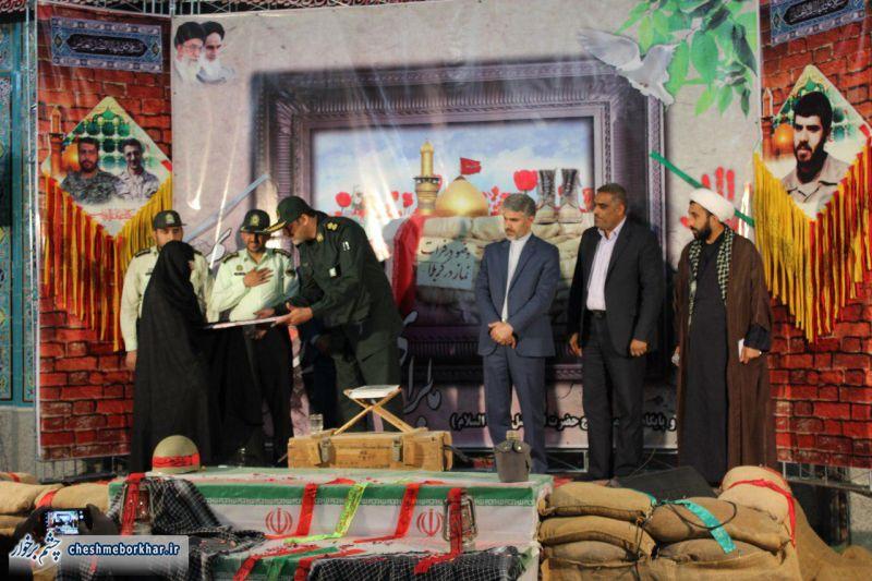 مردم دستگرد میزبان خانواده شهید تورجی زاده بودند/ تصاویر