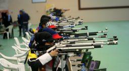 برگزاری مسابقات تیراندازی با سلاح بادی در برخوار