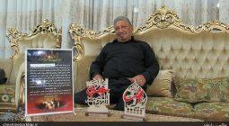 ۶۲ سال غلام اربابم حضرت زینب (س) هستم/تعزیه خوان های جوان امانت دار نسخه های قدیمی باشند