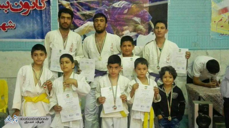نتایج مسابقات قهرمانی جودو شهرستان برخوار اعلام شد+ تصاویر