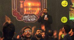 حضور سالانه هیات فاطمیون در آستان امامزاده نرمی /تصاویر
