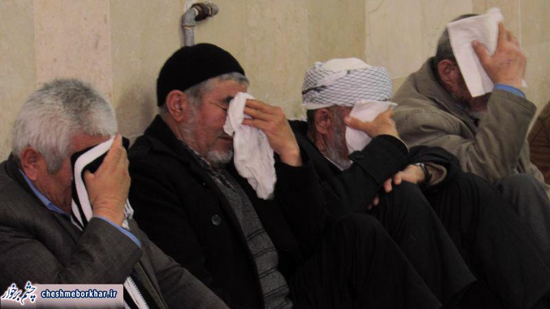 عزاداری افاغنه فاطمی در مسجد سرجوب دولت آباد / تصاویر