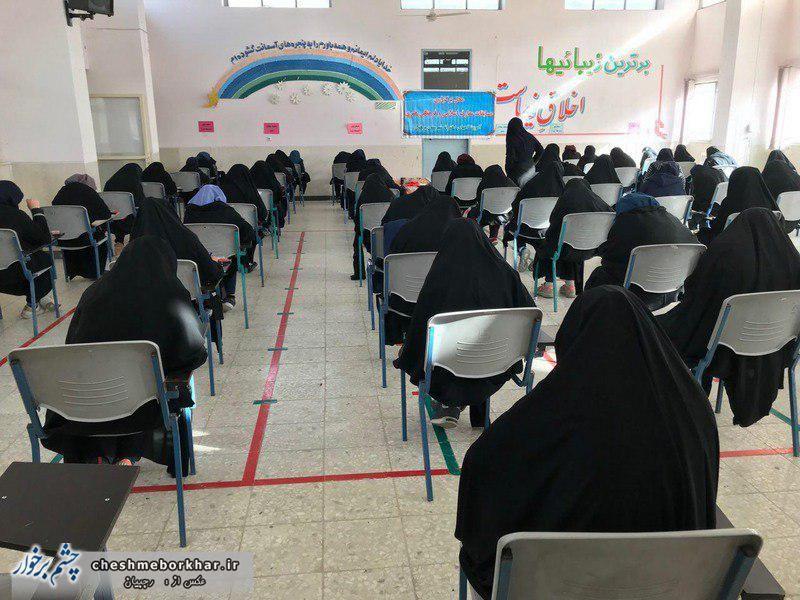 حضور 1400 دانش آموز درمسابقات کتبی قرآن و معارف+ تصاویر
