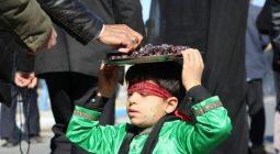 مراسم عزاداری عظیم مردمی برخوار در روز شهادت حضرت زهرا (س) /تصاویر