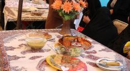 نمایشگاه غذاهای سنتی و محلی در روستای مَرغ برخوار/تصاویر