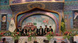 مراسم تحویل سال نو در حرم مطهر امامزاده نرمی (ع) به روایت تصویر