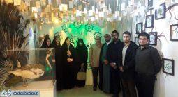بازدید دانشجویان بسیجی برخوار از نمایشگاه والشمس بنیاد مهدویت /تصاویر