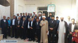 بازدید شهردار و شورای شهر از خانواده شهدای شهر سین برخوار