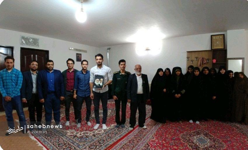 توصیه مهم جانباز برخواری به دانشجویان دانشکده علوم قرآنی /تصاویر